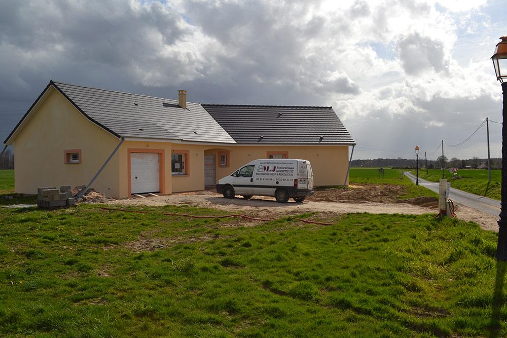 Constructeur r novation maison eure mj constructions for Extension maison neuve